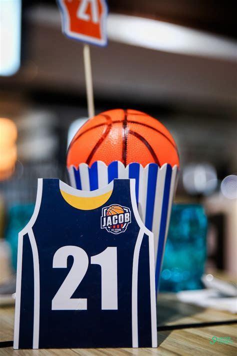 Kara's Party Ideas All Star Basketball Birthday Party