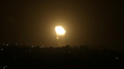 Армия Израиля нанесла удар в ответ на запуск ракеты из сектора Газа