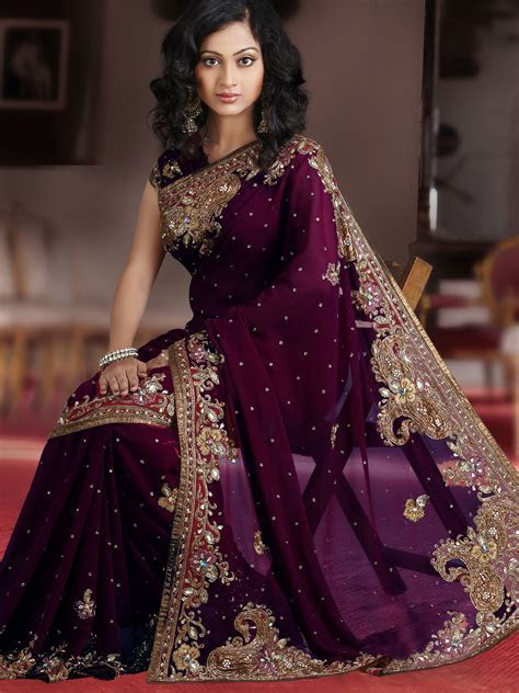 Wedding Saree Designs 2017   Indian Traditional Wedding