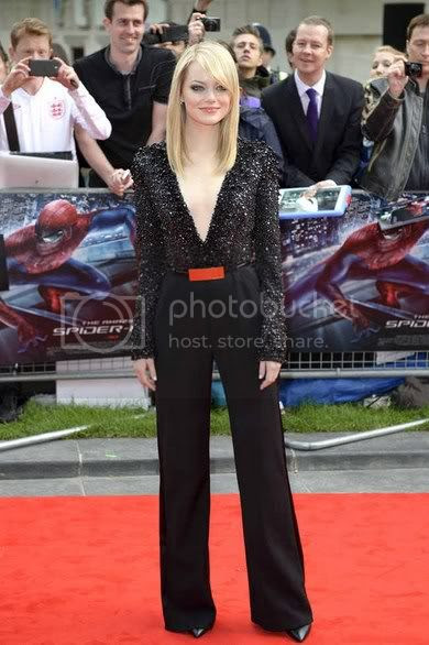 Emma Stone at The Amazing Spider-Man UK Premiere