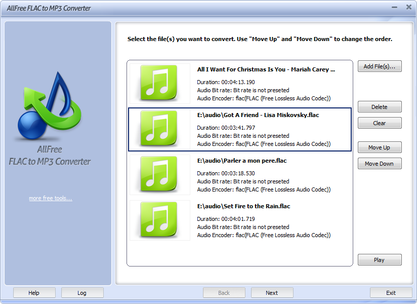 download flac files