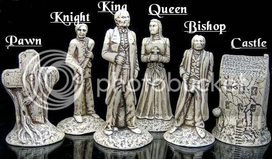 dracula chess set