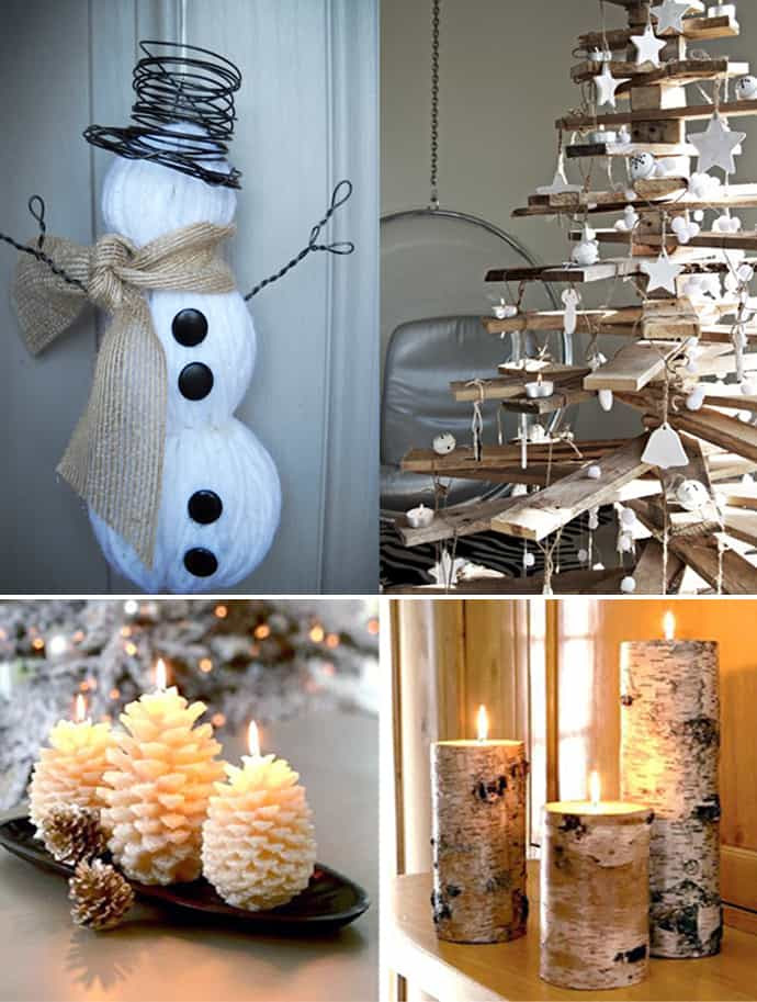 20 Natural Christmas Decorations for a Lovely Home | DesignRulz
