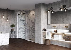Reimagining Bathroom Design With The Wetwall Water Proof Wall Panel System