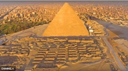 Excitement as Archaeologists Uncover Proof Of How Ancient Egyptians Built The Great Pyramid in 2600BC