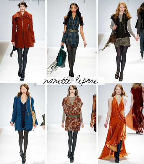 nanette lepore fall 2010 ready-to-wear collection
