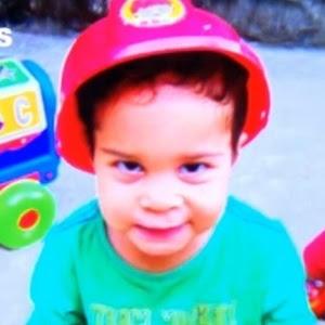 Gabriel Martins de Oliveira, 2, morreu por insolação dentro de um carro de transporte escolar clandestino que o levava até a creche