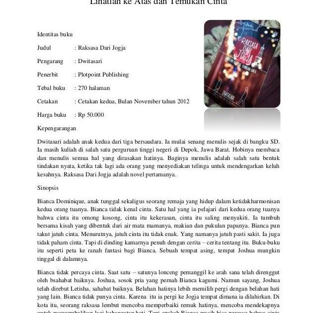 Contoh Resensi Buku Non Fiksi Per Bab - Contoh Hu
