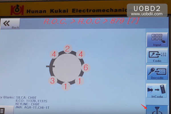 трубчато-копировально-фрезерный-втор-e9 ключ-машина 32