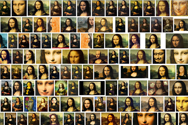 Google Image Search result for Mona Lisa