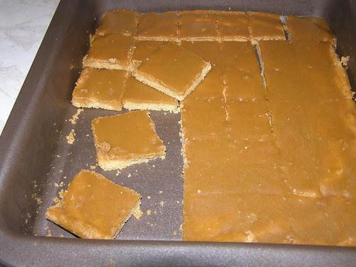 ginger crunch ginger slice
