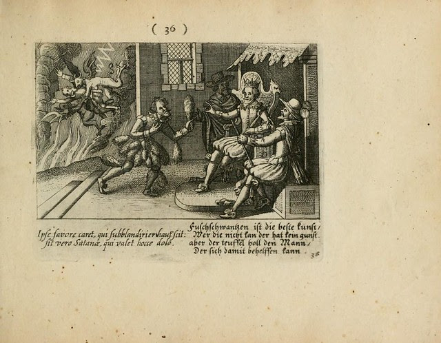 sinner taken to hell outside domestic nobility scene