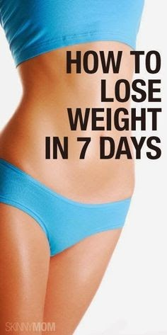 how to lose weight in just 9 days