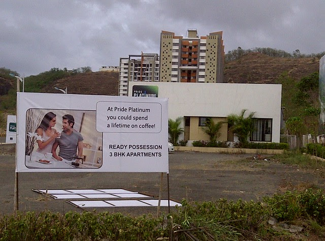 Available! Ready possession 3 BHK Flats at Pride Platinum!! - Visit Amit's Sereno, 2 BHK & 3 BHK Flats near Pancard Clubs, Baner Pune 411045