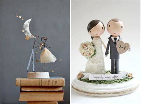 Quirky and Unique Wedding Cake Topper Ideas   Wedding in