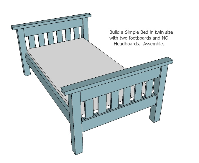 Cool Simple Bunk Bed Plans Furniture Wood Working