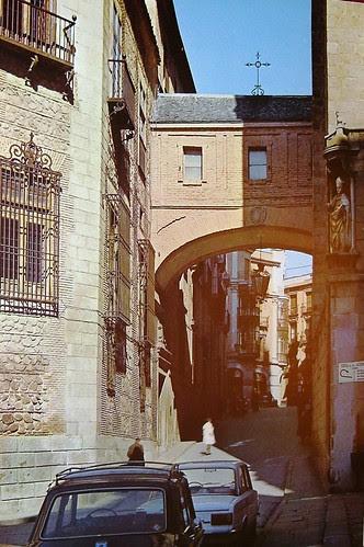 Arco de Palacio, Toledo, en los años 60