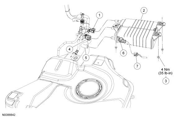 Ford Focus Service Manual Evaporative Emission Canister Emissions