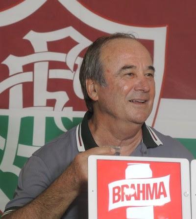 Levir Culpi, apresentação, Fluminense (Foto: Fred Huber/GloboEsporte.com)