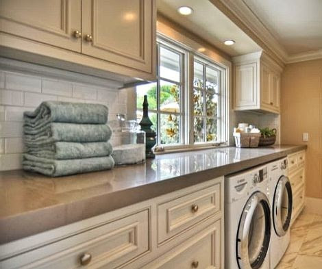 Laundry room storage cabinets – Classic design