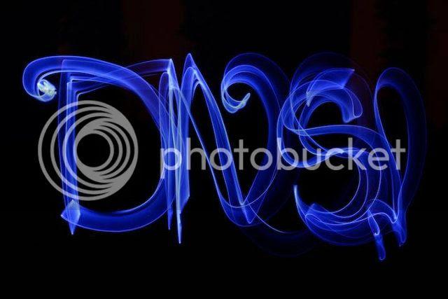 DNS-lightpainting