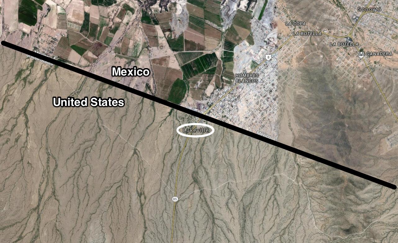 map arizona lukeville