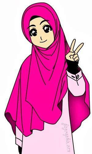 gambar kartun wanita muslimah pictures pictandpictureorg