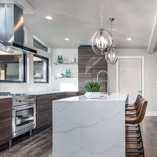 Top 50 Best Kitchen Island Lighting Ideas - Interior Light ...