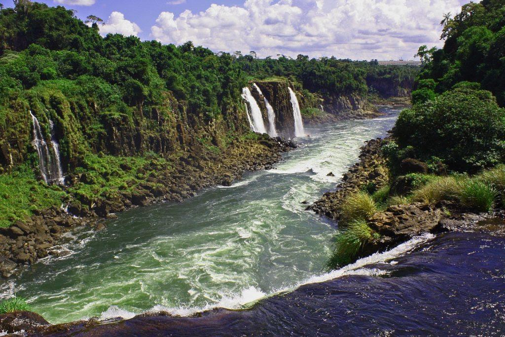 A exuberância da Mata Atlântica protegida no Parque Nacional do Iguaçu. Paraná foi o estado que o bioma mais se regenerou. Foto: Alobos Life/Flickr.