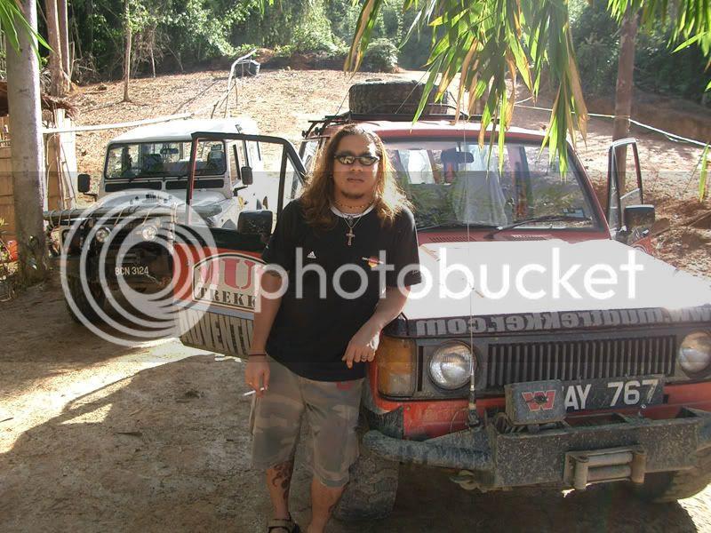 2005 ; 4-wheel-drive trip to Pahang, Malaysia