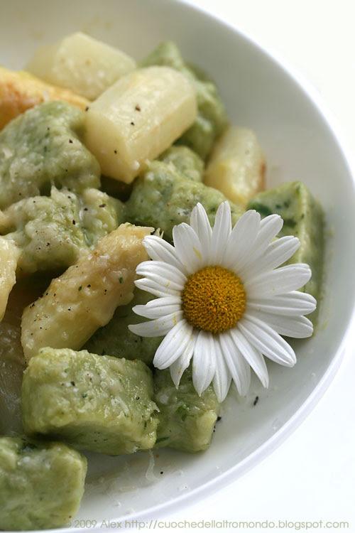 Gnocchi e asparagi