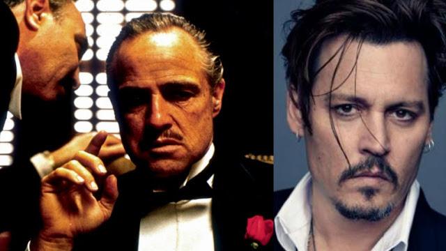 Johnny Deep vai interpretar Don Corleone na refilmagem de O Poderoso Chefão! Verdadeiro ou falso? (foto: Reprodução/Facebook)
