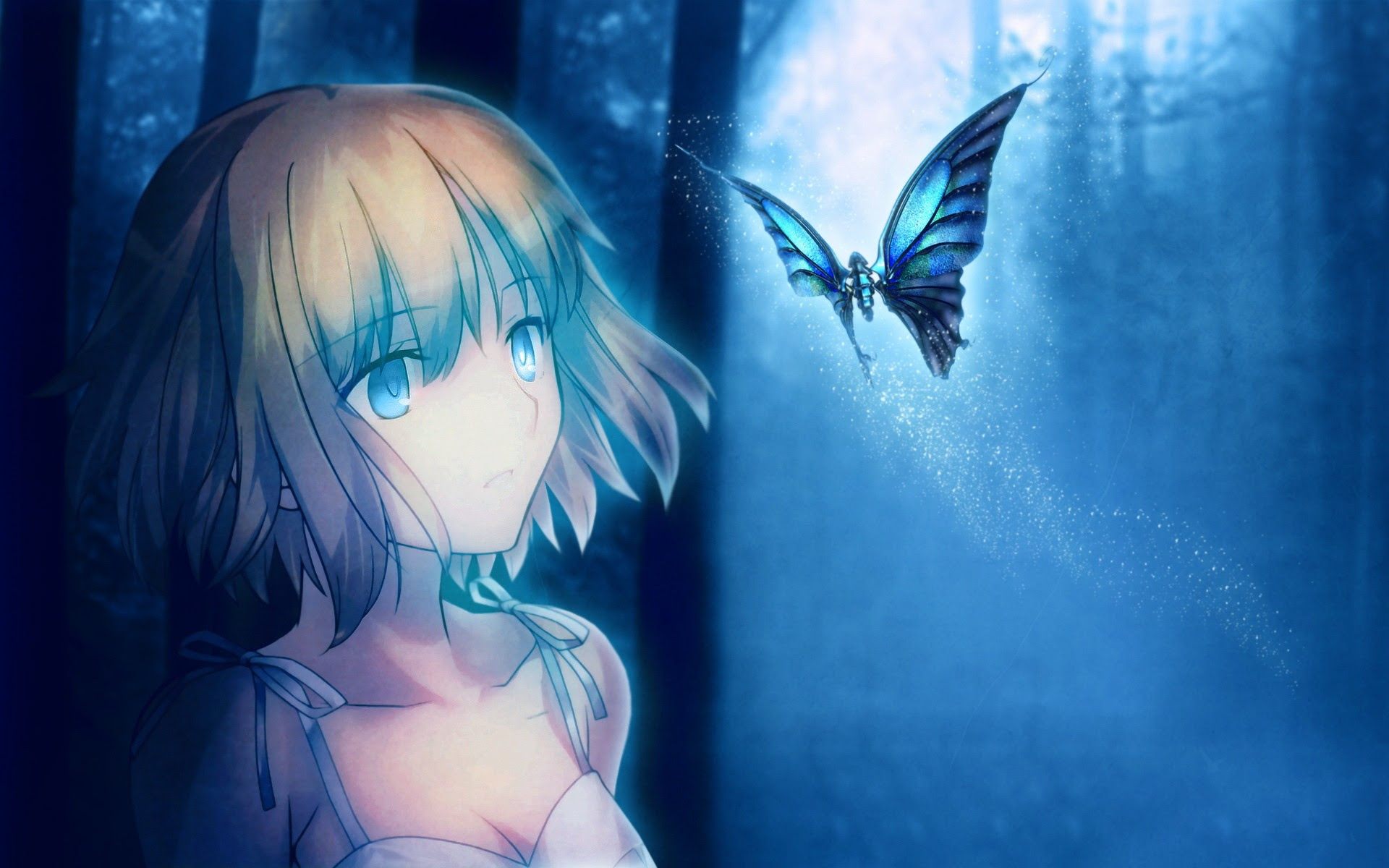Image - 20130904170938-anime-girl-and-butterfly.jpg ...