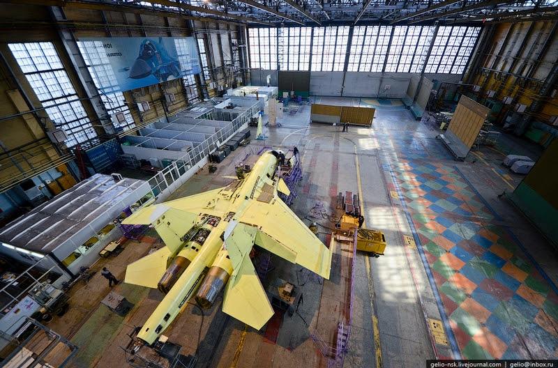 chkalovsu001 37 sản xuất của Su 34 Trong Novosibirsk