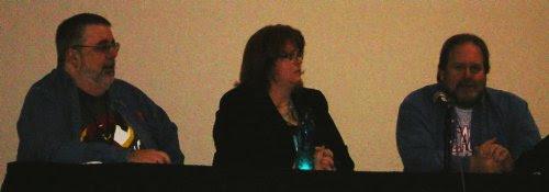 Kurt, Gail, and Bob at the DC Panel