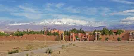Ouarzazate, la cité du cinéma, sud maroc