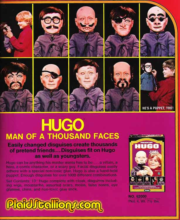 hugo man of a 1000 faces