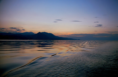 Gulf of Corinth Sundown