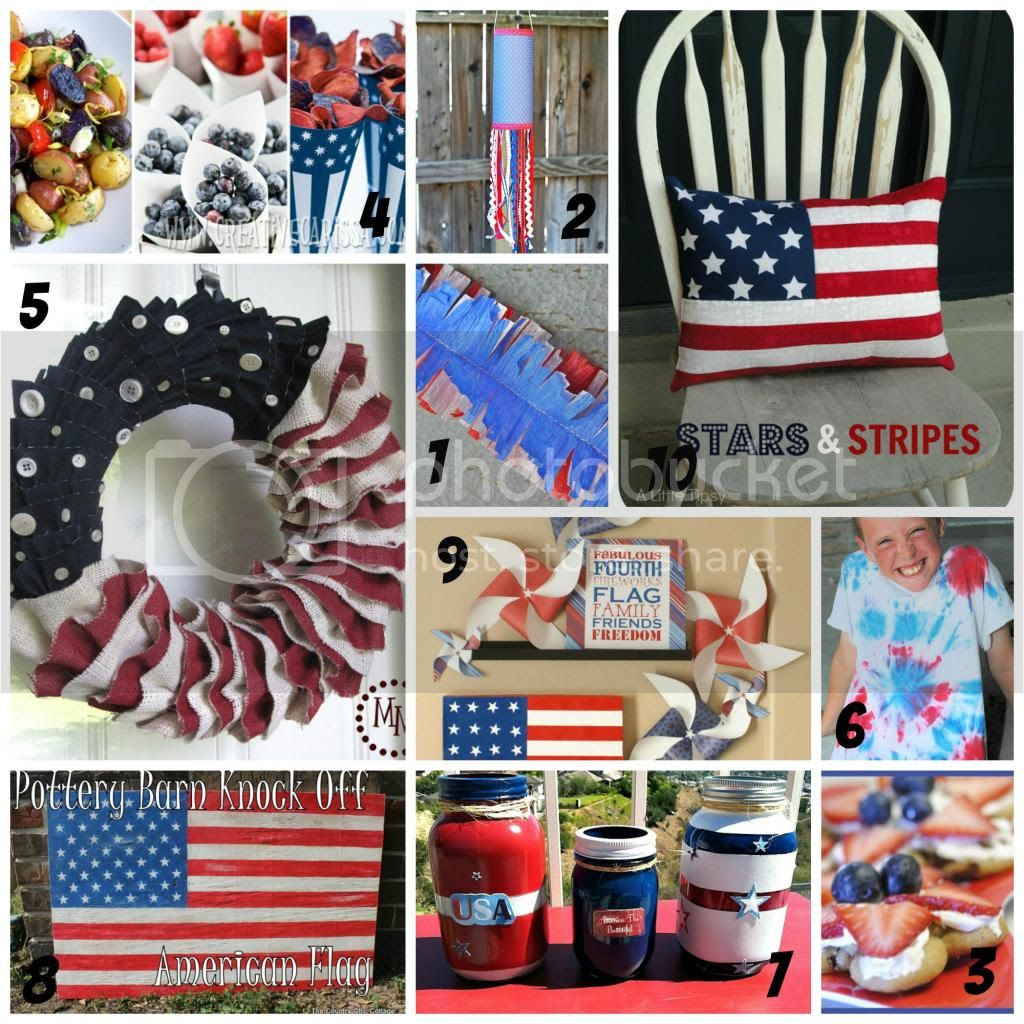 www.myveryeducatedmother.com #America #oldglory #flags #crafts #4thofJuly