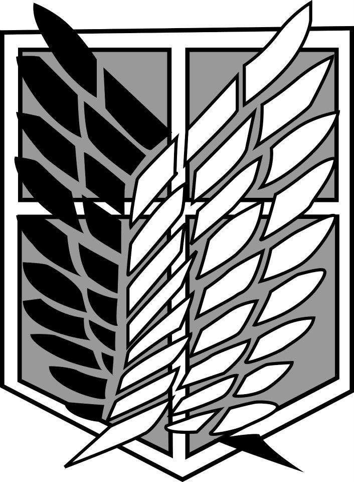 shingeki no kyojin: Scouting legion emblem by allenwalkeriskawaii