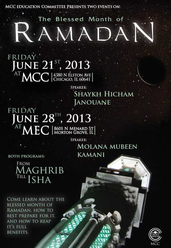 TONIGHT | MCC Presents: The Blessed Month on Ramadan - June