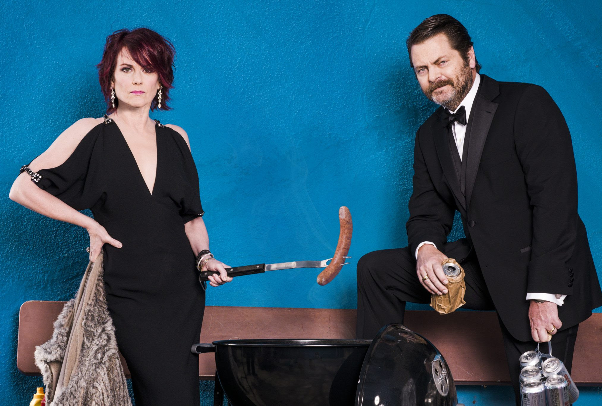 Megan Mullally Nick Offerman Book