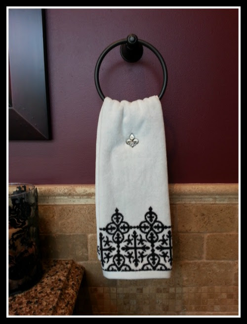 Fleur De Lis Towelocs Is A Decorative Towels Pin