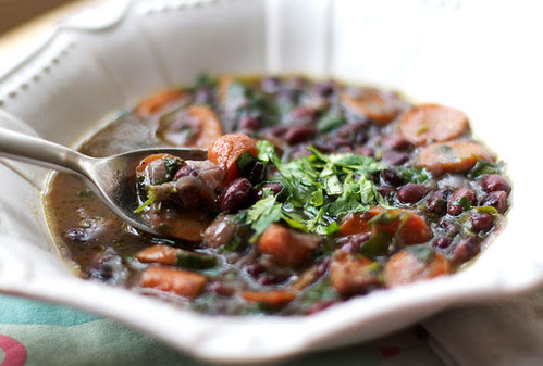black bean soup 2