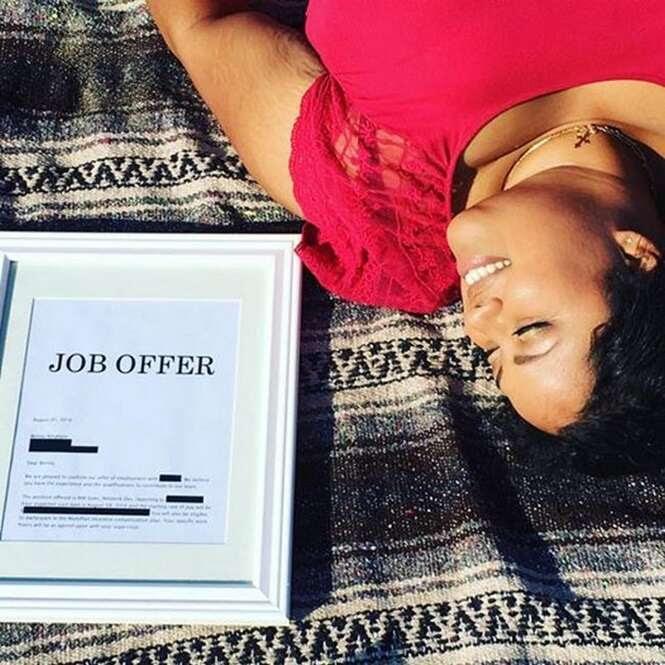 """""""Oferta de emprego"""" Foto: Tudo Interessante"""