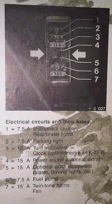 Bmw K100 Fuse Box Wiring Diagram Component A Component A Consorziofiuggiturismo It