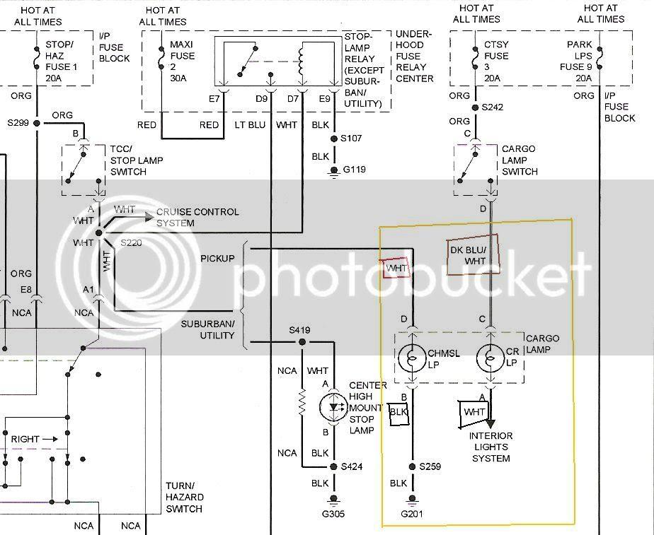 Chevy Cargo Light Wiring Diagram - Wiring Diagram