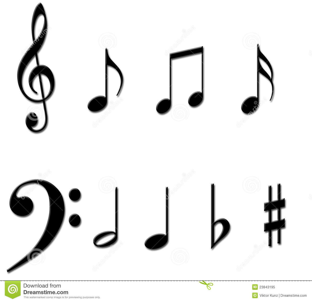 Music Notes Symbols Tattoos Clipart Panda Free Clipart Images