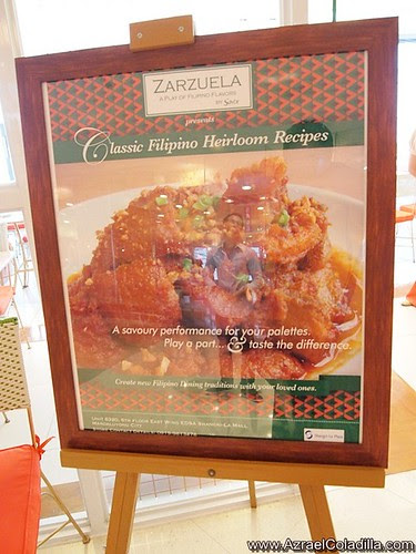 A visit again at Zarzuela restaurant in East wing of Shangri La Plaza - photos by Azrael Coladilla