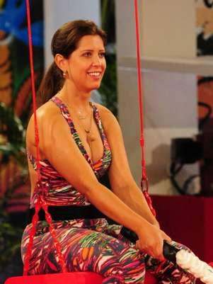A paranaense afirmou que em nenhuma edição houve um casal como ela e Nasser Foto: TV Globo / Divulgação